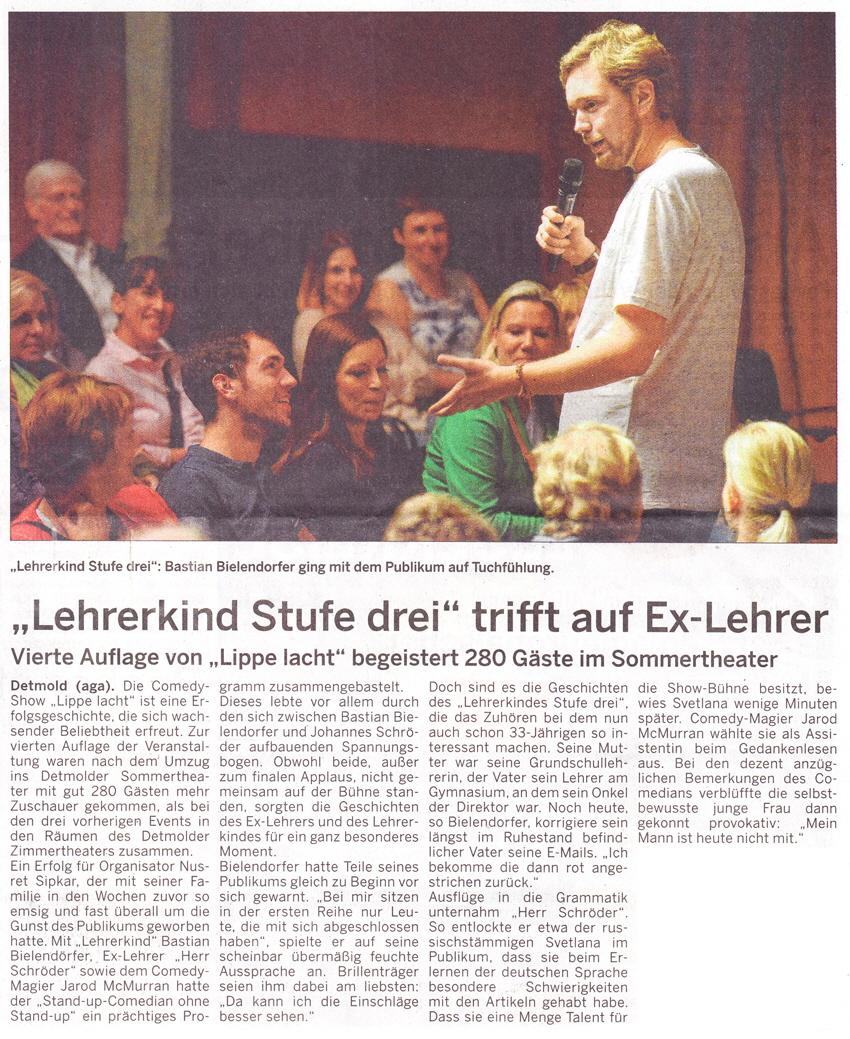 Lehrerkind Stufe 3 trifft auf Ex-Lehrer (mit Bastian Bielendorfer, Herrn Schröder, …)